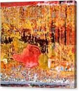 Wall Abstract 1 Canvas Print