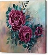 Wall Corsage Canvas Print