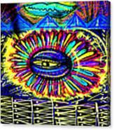 Wall Flower 30x30 Canvas Print