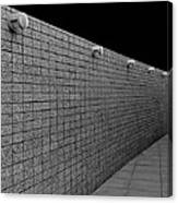 Wall Of Lights Canvas Print
