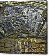 Ceiling And Wall Paintings Canvas Print