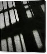 Wall Shadows Canvas Print