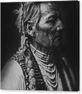 Walla Walla Indian Circa 1905 Canvas Print