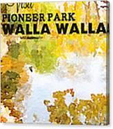 Walla Walla Canvas Print
