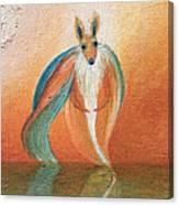 Wallaby Spirit Canvas Print