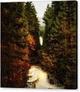 Wallace Fall North Fork Canvas Print