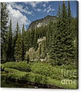 Wallowas - No. 1 Canvas Print