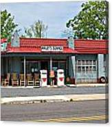 Wallys Service Station Mt. Airy Nc Canvas Print