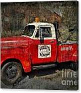 Wally's Towing Canvas Print