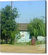Walnut Grove - Typical Rural Farm House Canvas Print