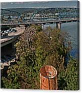 Walnut Street Bridge Chattanooga Canvas Print