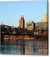 Walnut Street Bridge Harrisburg Pennsylvania Canvas Print