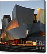 Walt Disney Concert Hall 21 Canvas Print