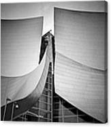 Walt Disney Concert Hall. Canvas Print