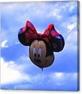 Walt Disney Smile Canvas Print
