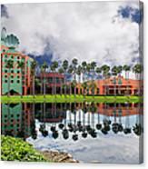 Walt Disney World Swan Hotel  Canvas Print
