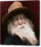 Walt Whitman Canvas Print