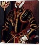Walter Devereux (1541-1576) Canvas Print