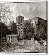Waltham Abbey, Uk Canvas Print