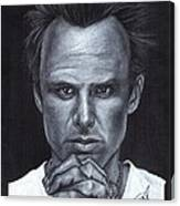 Walton Goggins Canvas Print