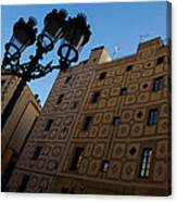 Wandering Around The Streets Of Barcelona Spain Canvas Print
