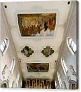 Wangen Organ And Ceiling Canvas Print