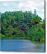 Waoleke Pond Forest Canvas Print