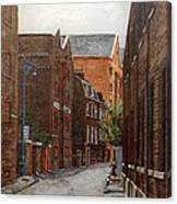 Wapping High Street East London Canvas Print