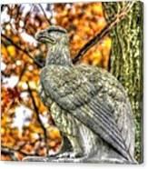 War Eagles - 28th Massachusetts Volunteer Infantry Rose Woods The Wheatfield Fall-a Gettysburg Canvas Print