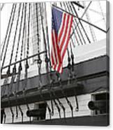War Ship Canvas Print