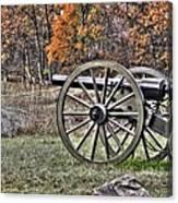 War Thunder - 4th New York Independent Battery Crawford Avenue Gettysburg Canvas Print