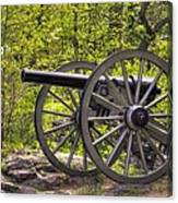 War Thunder - 5th United States Artillery Hazletts Battery - Little Round Top Gettysburg Spring Canvas Print