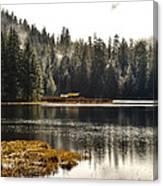 Ward Lake Shack Canvas Print