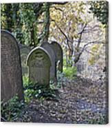 Wardsend Cemetery Canvas Print