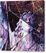 Warehouse Angel / Through The Broken Glass Canvas Print