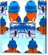 Warhol Firehydrants Canvas Print