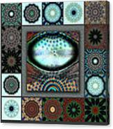 Warm Cosmos Redux Canvas Print