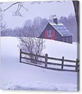 Warm In Winter Canvas Print
