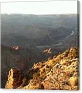 Warm Light Grand Canyon Canvas Print