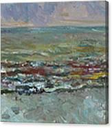 Warm Sea Canvas Print