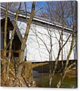 Warnke Covered Bridge  Canvas Print