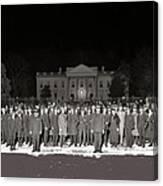 Warren Harding Elected President Election Night National Photo Co. White House Washington D.c.1920 Canvas Print