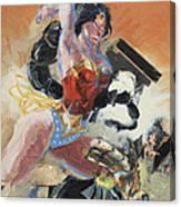 Warrior Princess Canvas Print