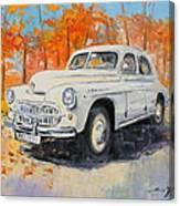 Warszawa M-20 Canvas Print