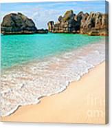 Warwick Long Bay Beach Canvas Print