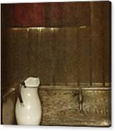Wash Basin Canvas Print