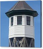 Wash Woods Coast Guard Tower Canvas Print