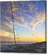 Washed Ashore Canvas Print