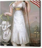 Washington & Liberty, C1810 Canvas Print