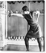 Washington Champion Fencer Canvas Print